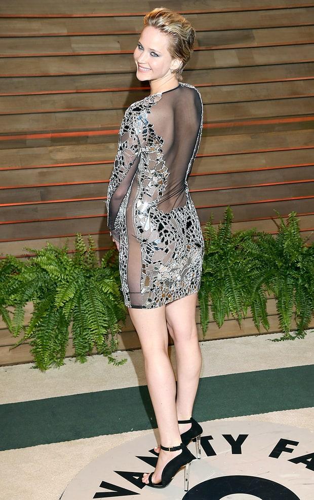 Jennifer Lawrence: 2014 Vanity Fair Oscar Party | Vanity ...