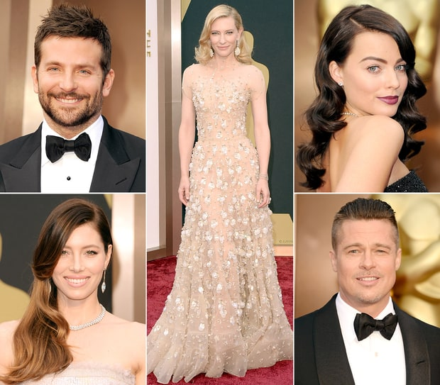 Oscars 2014: Fashion & Beauty