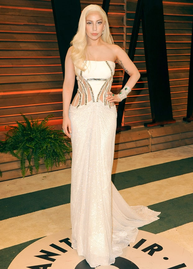 Lady Gaga: 2014 Vanity Fair Oscar Party