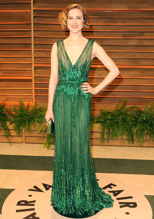 Evan Rachel Wood: 2014 Vanity Fair Oscar Party