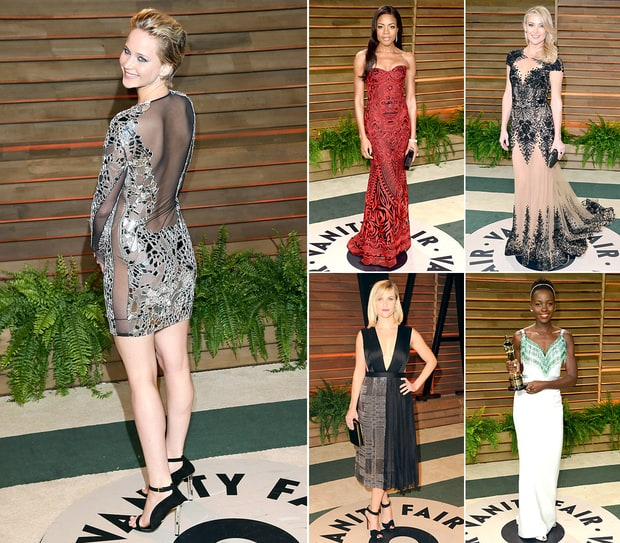 Vanity Fair Oscar Party 2014: What the Stars Wore