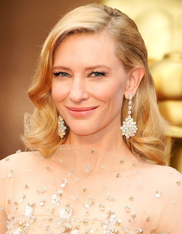 Cate Blanchett's Old Hollywood Waves and Makeup