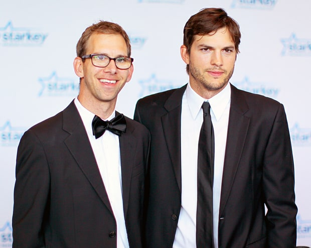 Ashton Kutcher and Mic... Ashton Kutcher Brother