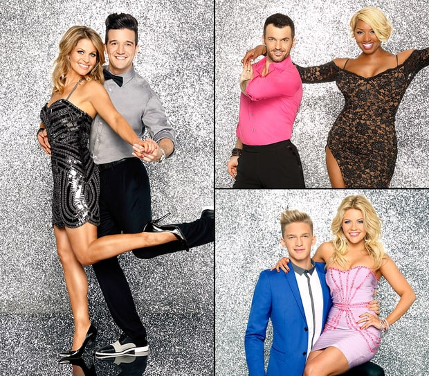 Dancing With the Stars Season 18: Celebrities and Their Partners in Sexy Costumes!