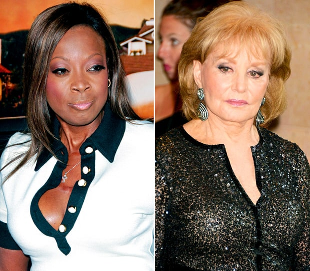 Star Jones vs. Barbara Walters