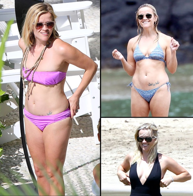 Reese Witherspoon's Bikini Body Through the Years