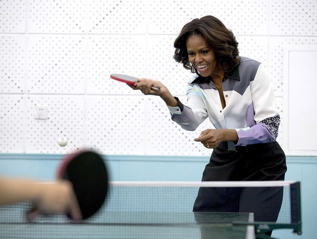 Ping Pong With FLOTUS