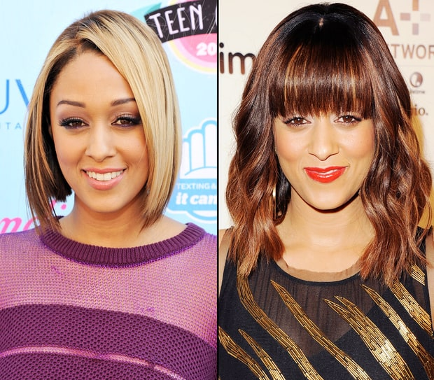 Tia Mowry  Celebrities39 Dramatic Hair Color Makeovers  Us Weekly