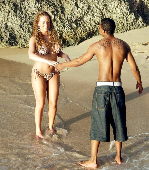 Mariah carey bikini body think, that