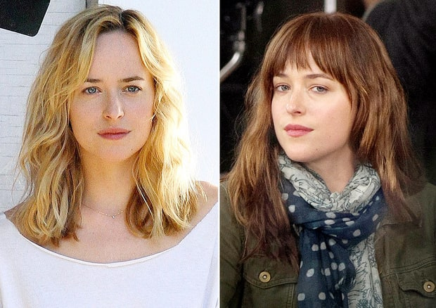 Dakota Johnson  Celebrities39 Dramatic Hair Color Makeovers  Us Weekly