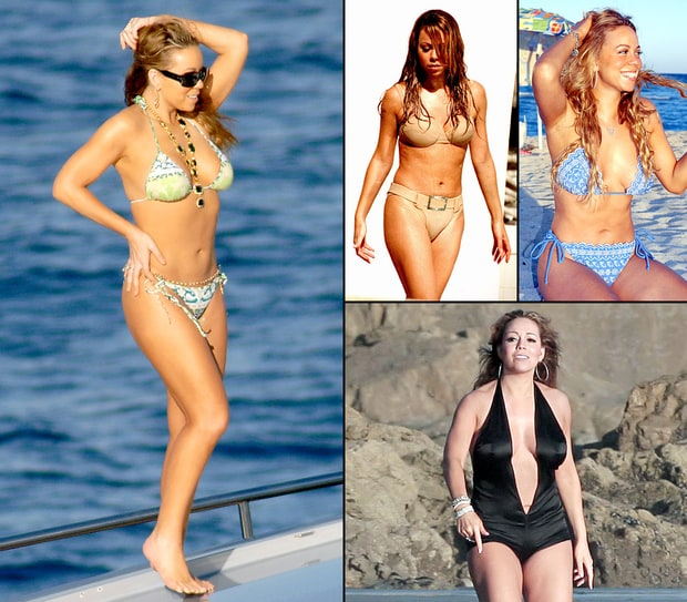 Mariah Carey's Bikini Body Through the Years