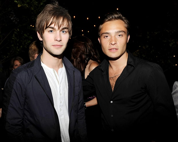 Chase Crawford and Ed Westwick