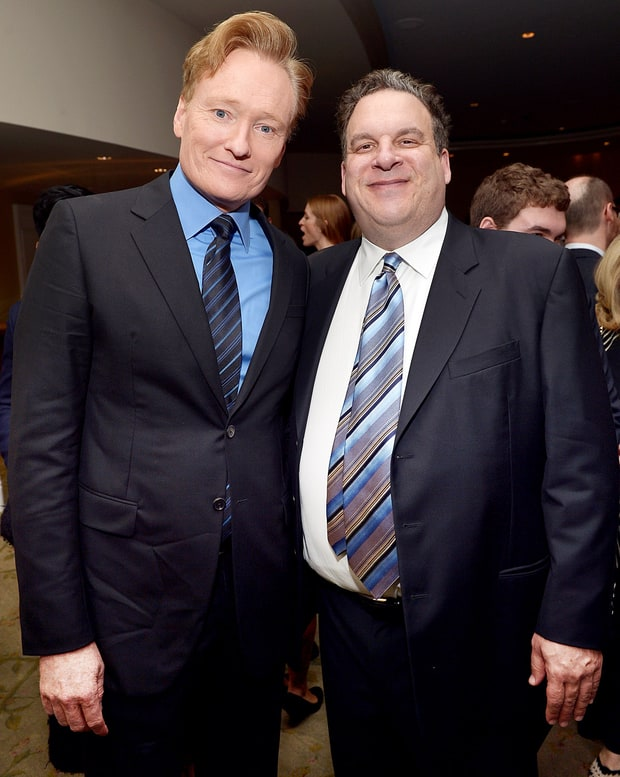 Conan O'Brien and Jeff Garlin