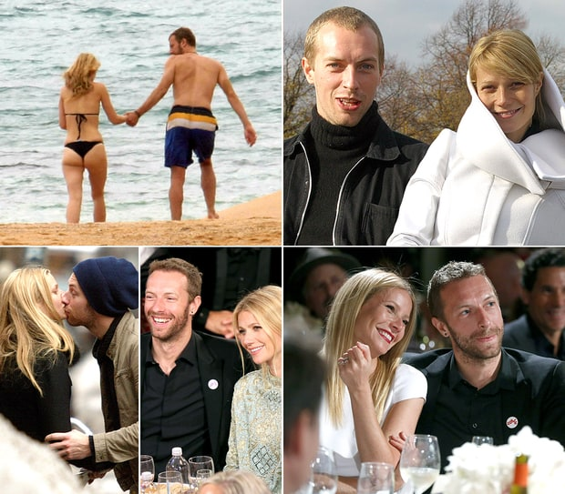 Gwyneth Paltrow and Chris Martin Through the Years