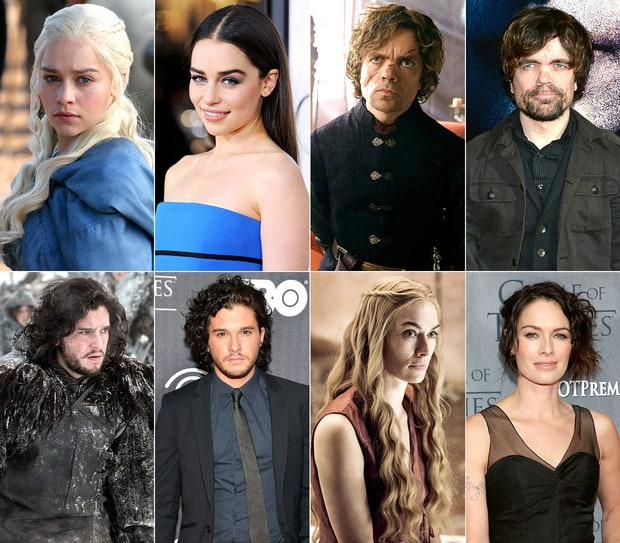 The Game of Thrones Cast Off-Screen!