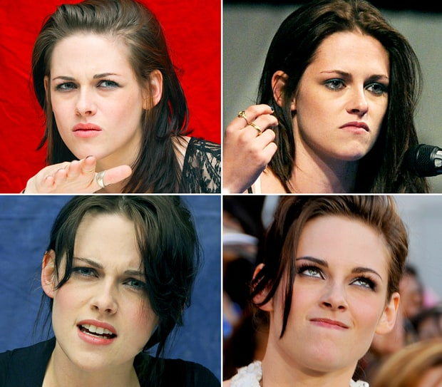 Kristen Stewart's Grumpiest Faces