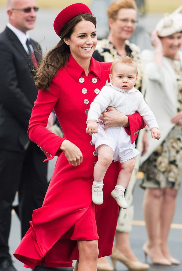 Baby's First Royal Tour!
