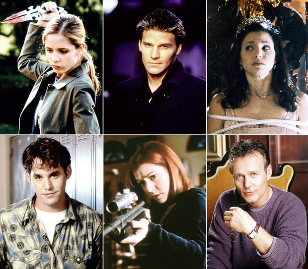 Buffy The Vampire Slayer: Then And Now