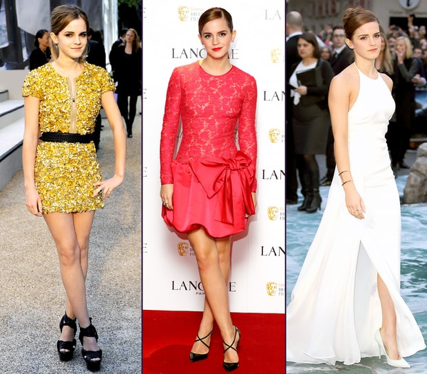 emma watson fashion evolution