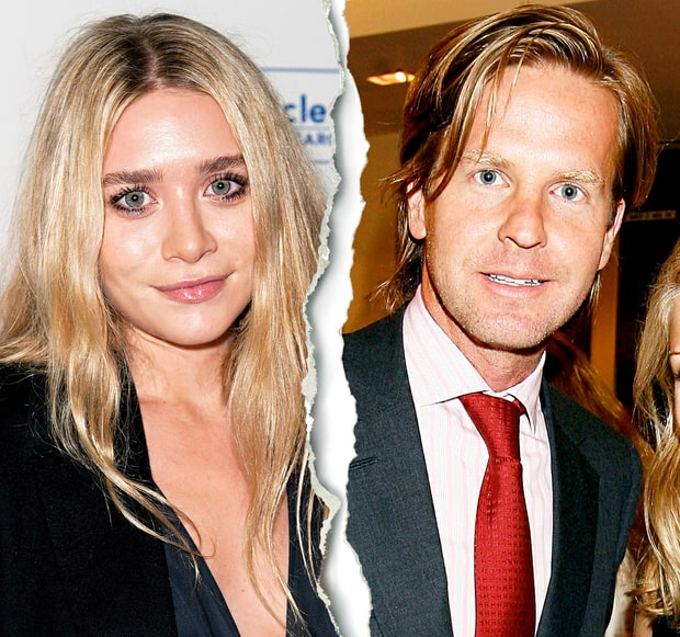Ashley Olsen and David Schulte