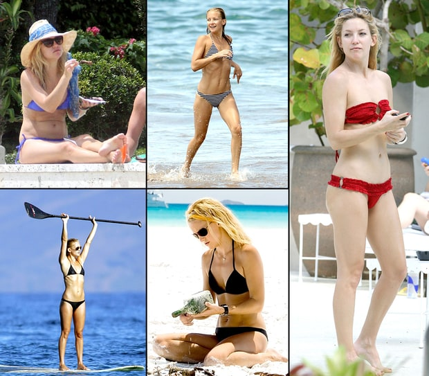 Kate Hudson's Bikini Body Through the Years