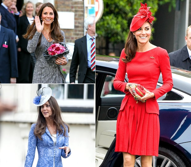 Kate Middleton's Recycled Outfits