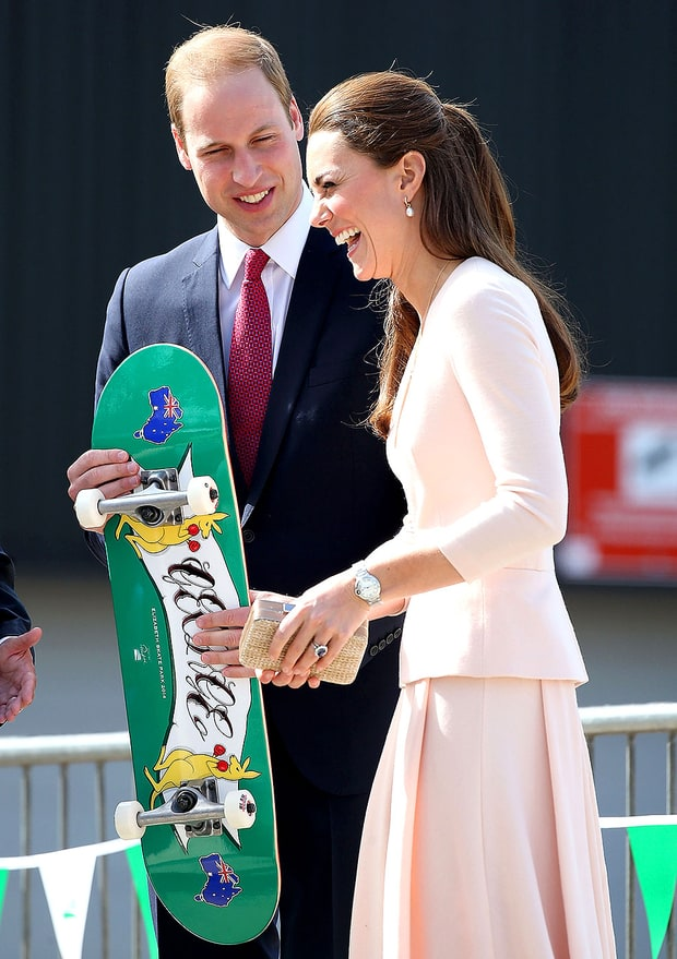 Kate and William: adorable displays of public affection