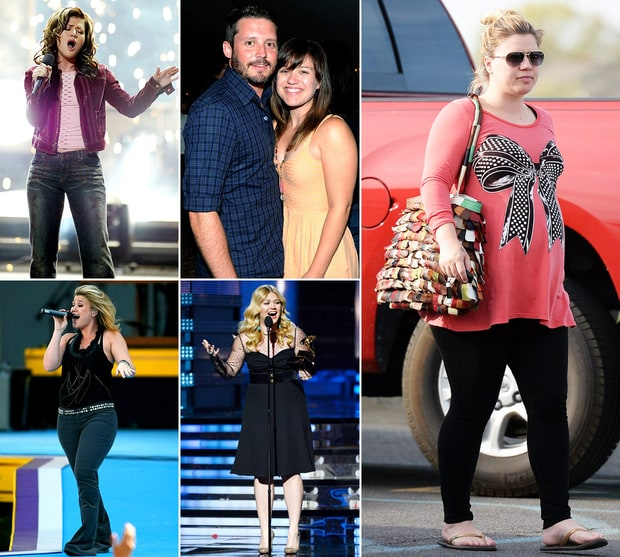 Kelly Clarkson's Body Through The Years