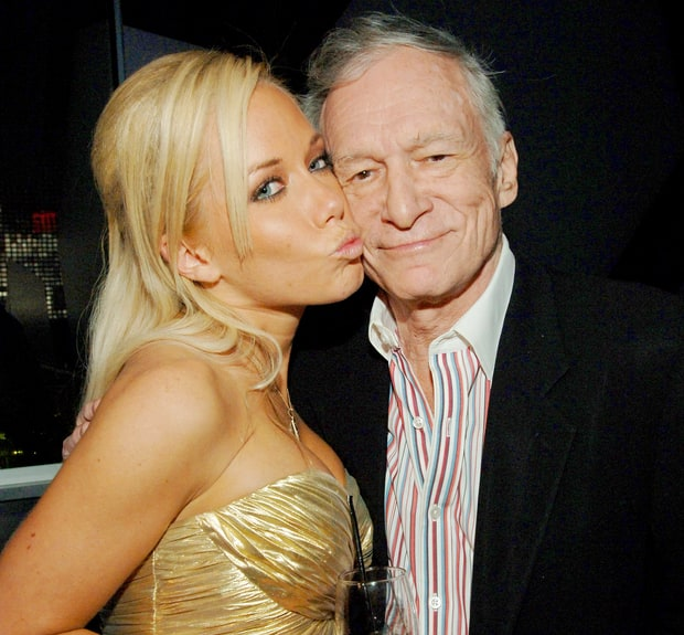 Kendra Wilkinson and Hugh Hefner