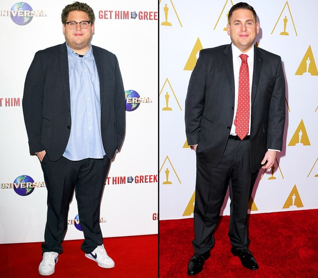 Jonah Hill 30 pounds