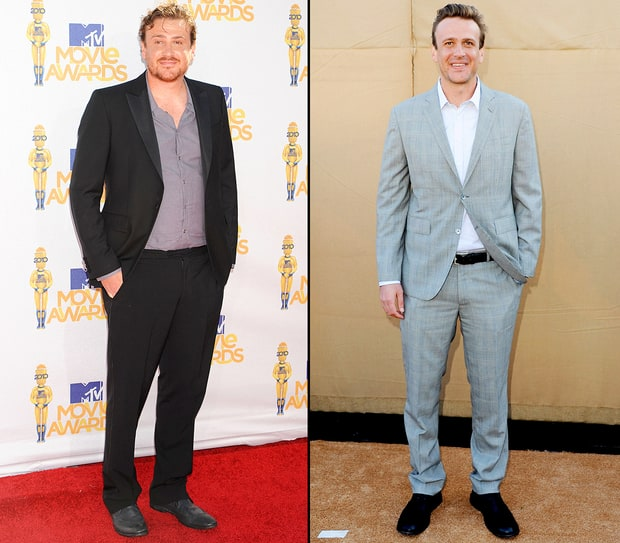 Jason Segel 35 pounds