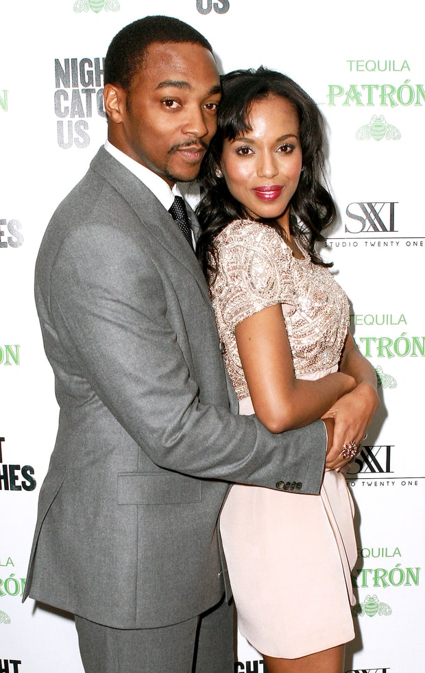 Kerry Washington and Anthony Mackie
