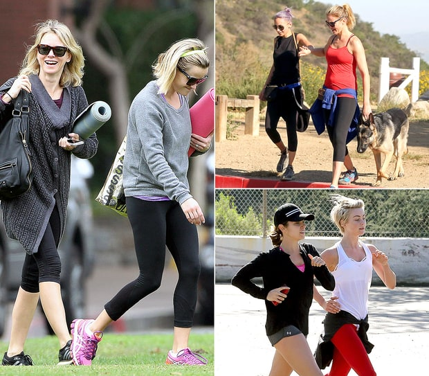 Celebrity Workout Buddies!