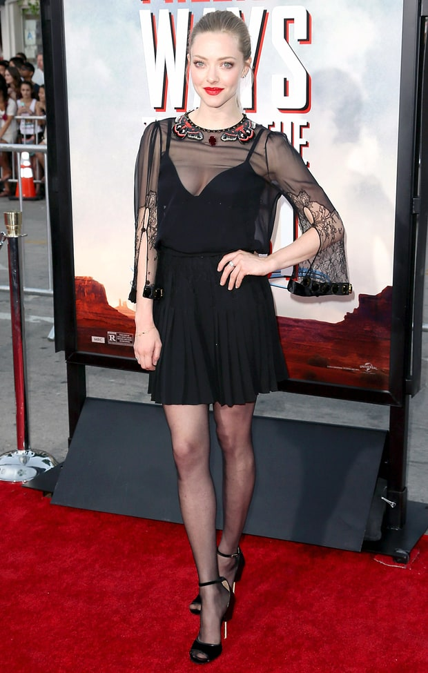 Amanda Seyfried: A Million Ways to Die in the West Premiere