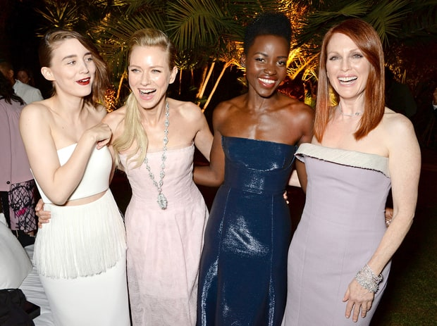 Rooney Mara, Naomi Watts, Lupita Nyong'o and Julianne Moore