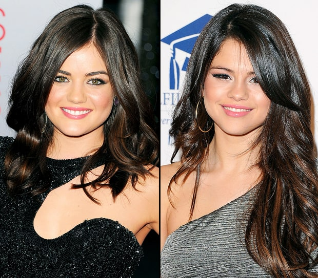 Lucy Hale and Selena Gomez