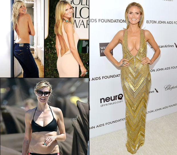 Heidi Klum: Her Amazing Body Evolution