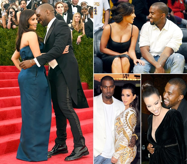 Kim and Kanye's Sweetest PDA Moments