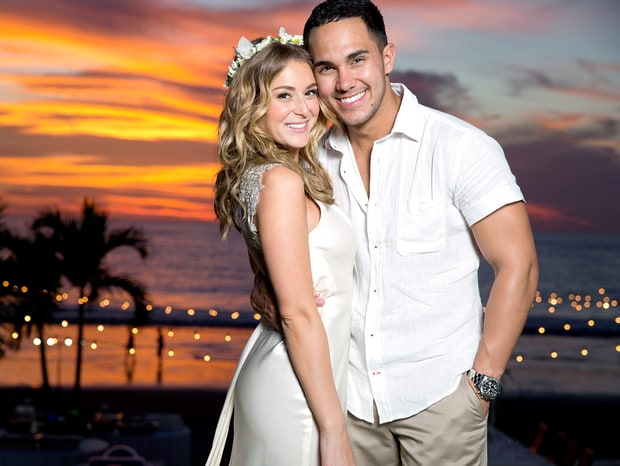 Alexa Vega and Carlos Pena, Jr.