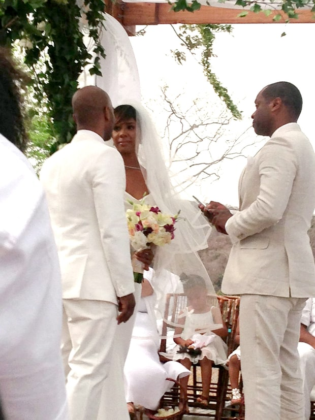 Kelly Rowland and Tim Witherspoon