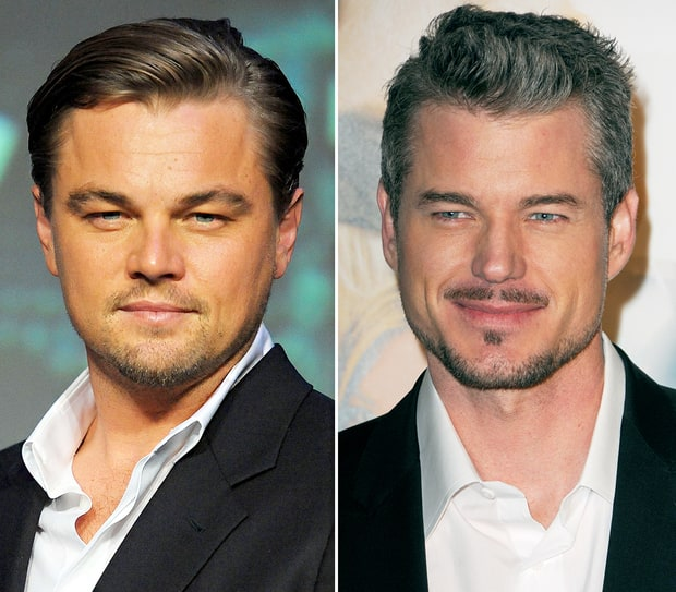 Leonardo DiCaprio and Eric Dane