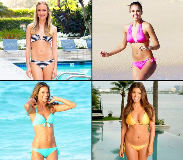 Post-Baby Bikini Bodies!