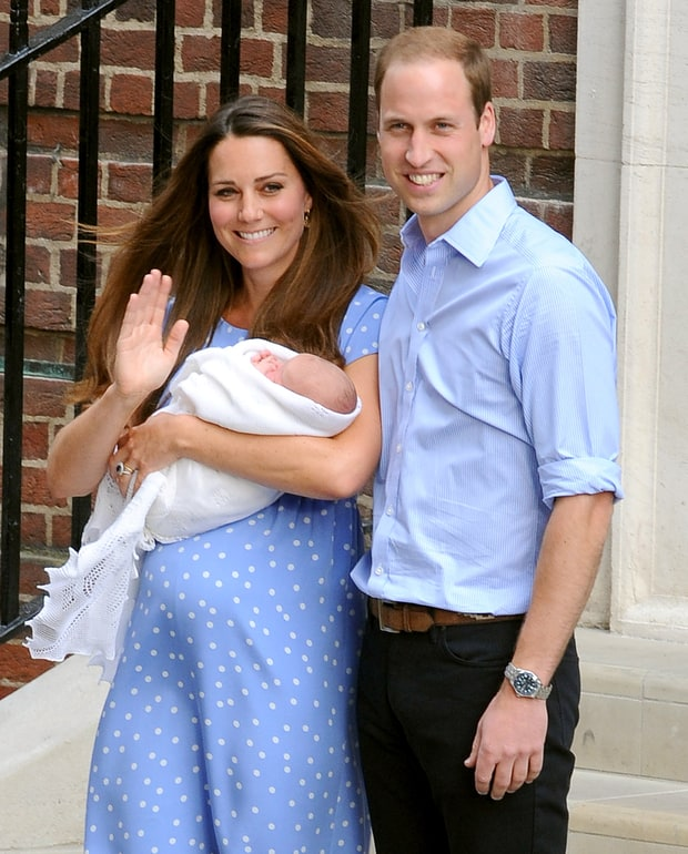 Kate and Will Welcome Prince George