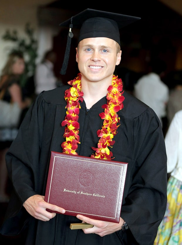 Spencer Pratt Graduates