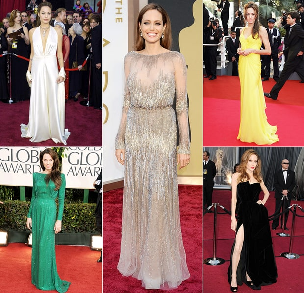Angelina Jolie's Best Red Carpet Moments
