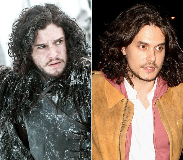 Kit Harington and John Mayer