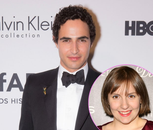 Zac Posen and Lena Dunham