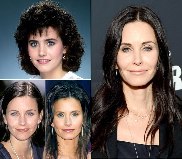Courteney Cox Through the Years