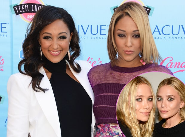 Tia and Tamera Mowry and Mary-Kate and Ashley Olsen