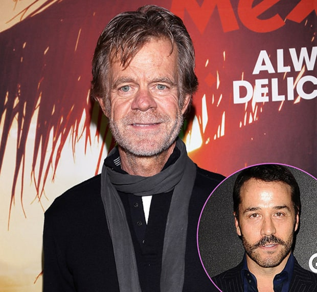 William H. Macy and Jeremy Piven
